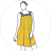 Printed kurti clipart drawing