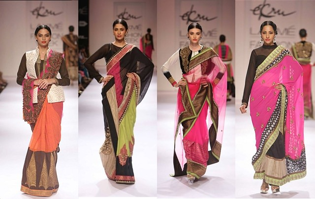 casual ways to drape a saree
