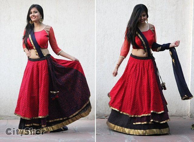 chaniya choli for navratri online shopping