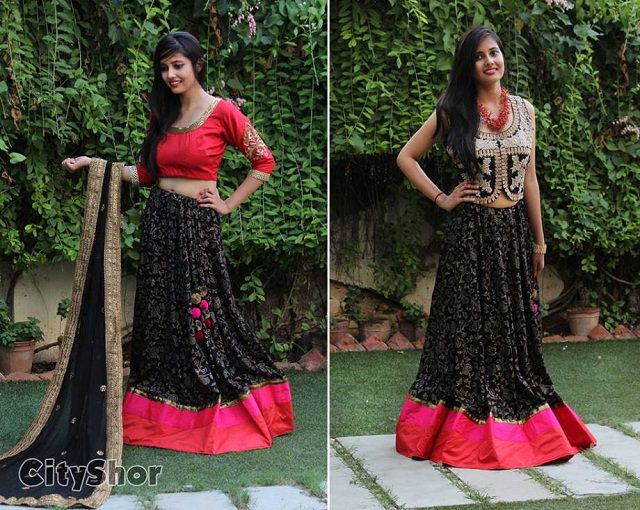 latest navratri chaniya choli designs