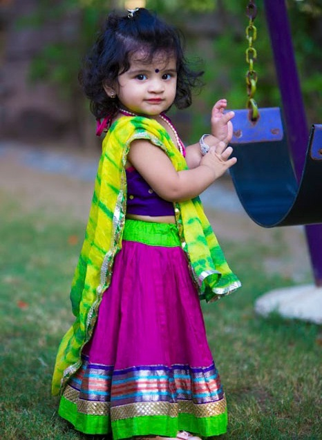 garba chaniya choli designs for kids, indian kids lehenga choli