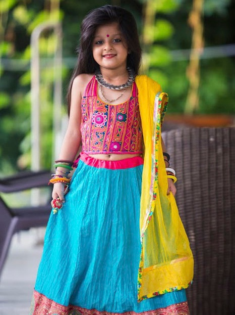indian ghagra choli for kids