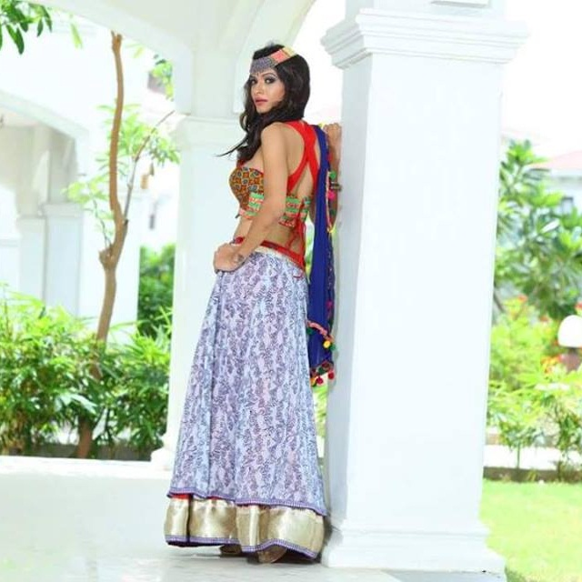 navratri chaniya choli patterns