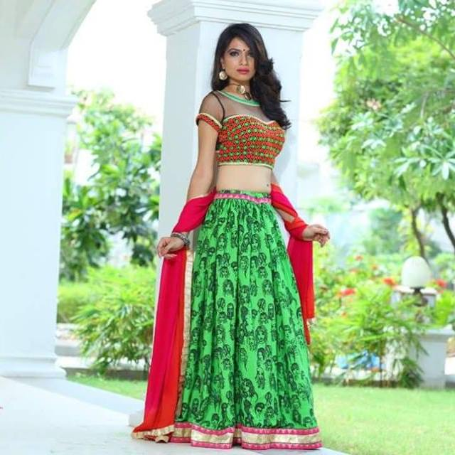 Ethnic Navratri Embroidery Chaniya choli