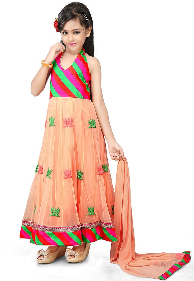 anarkali-salwar-suit, girls anarkali suit