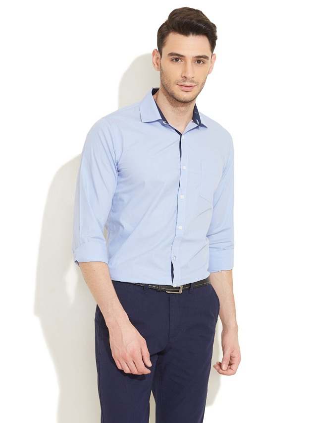 light blue shirt with dark blue pant, Wear light blue shirt with dark blue pant, formal dress colour combination for men
