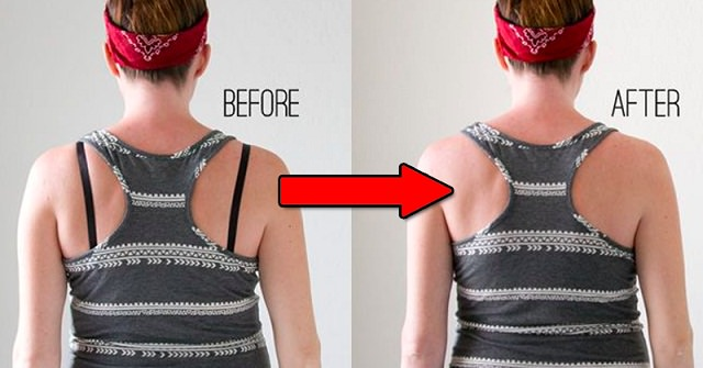 Use of paper clip to hide bra strap in your dress