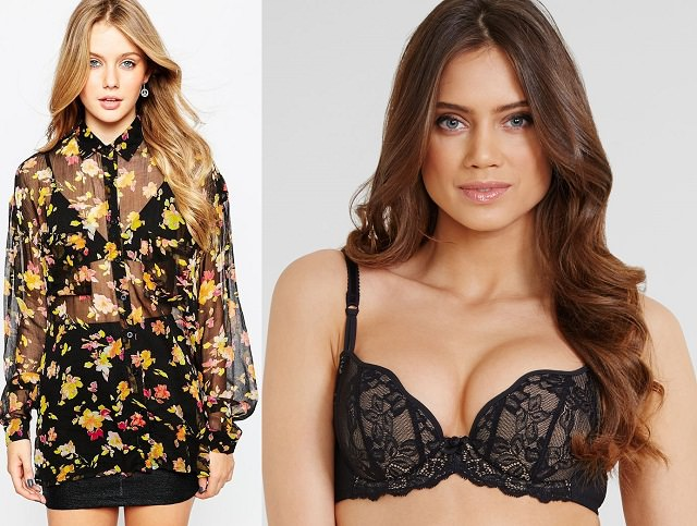 how to choose perfect bra for Sheer Tops/Sheer Dresses
