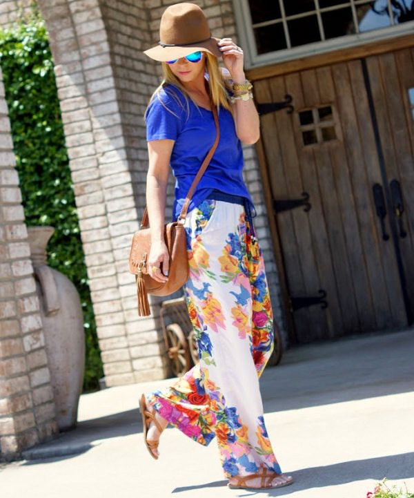 flats with palazzo pant