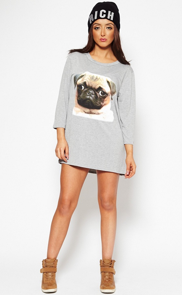 oversized tee with boots, sexy oversized t-shirt for hot look