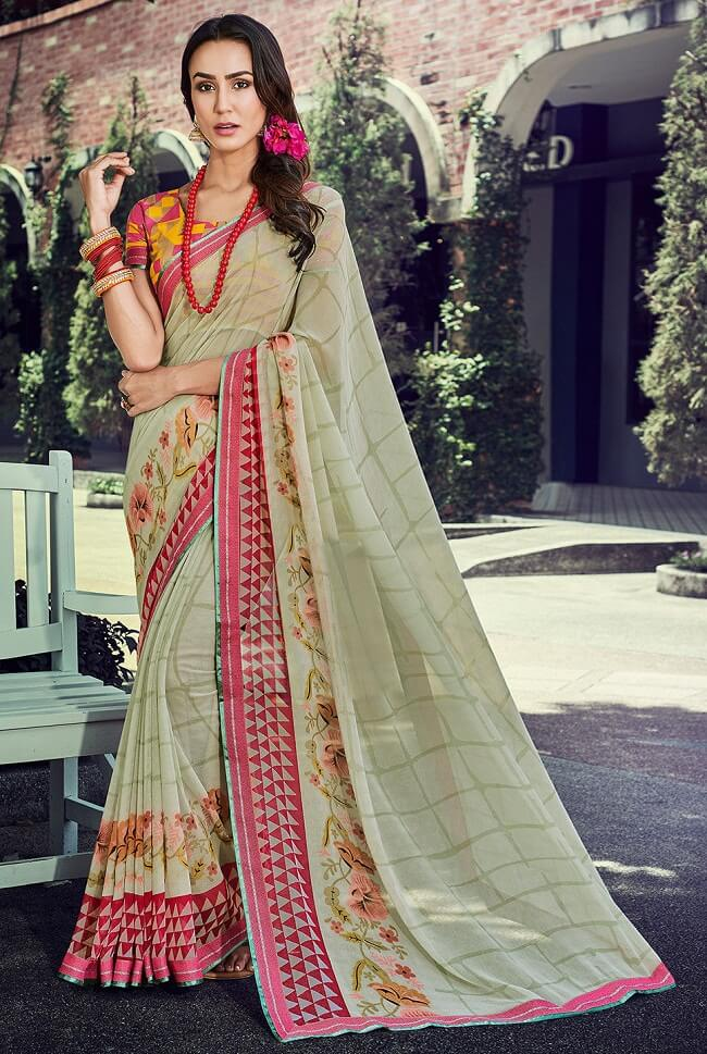 latest designer party wear sarees images