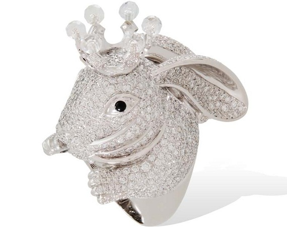 animal farm rabbit ring