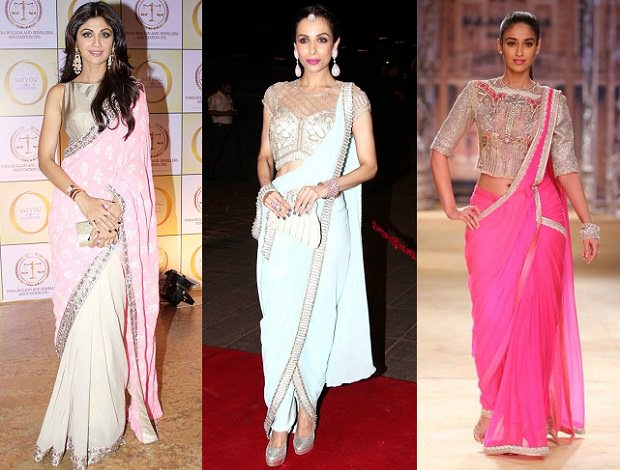 bold-ethnic-look-saree