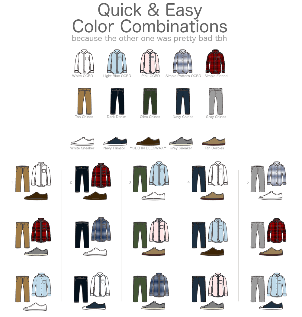 color-combinations1, a guide to quick and easy color combinations