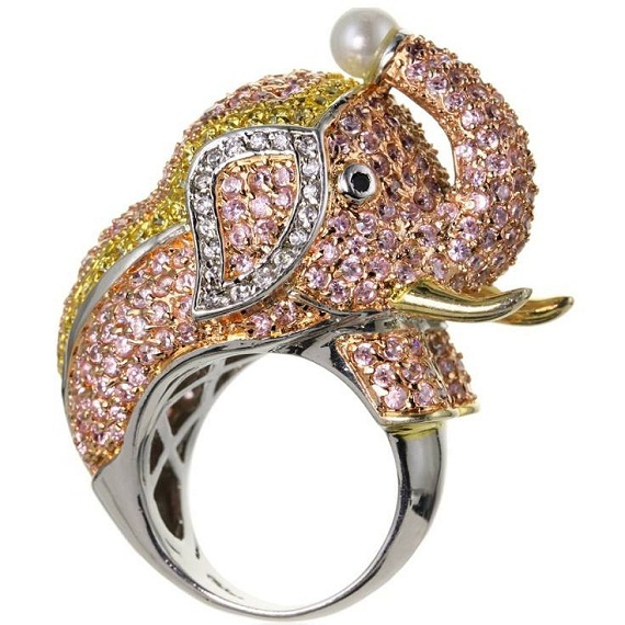 creative elephant ring