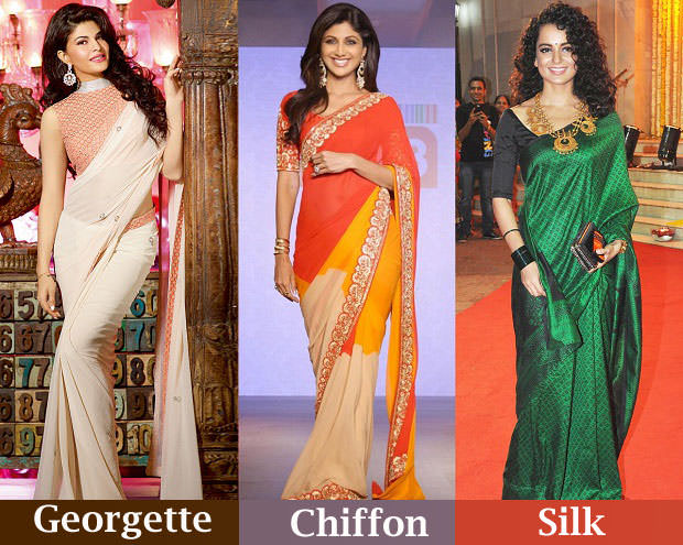 different-saree-fabrics