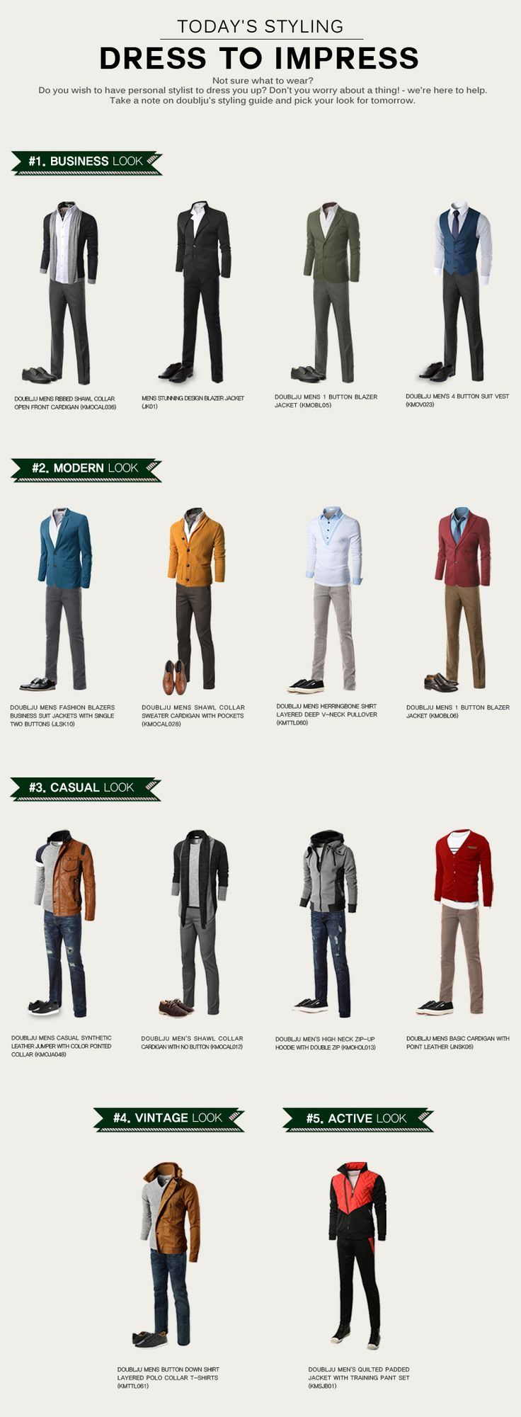 dress to impress, a guide to men's fashion