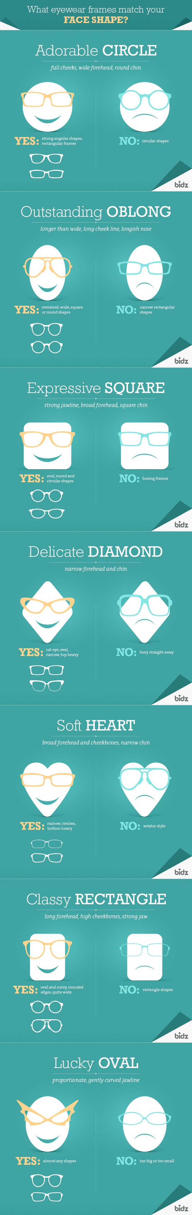eyeglasses, what eyewear frames match your face shape, the best eyeglasses for your face shape