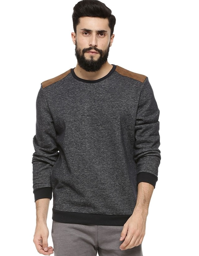 gray sweatshirt for men