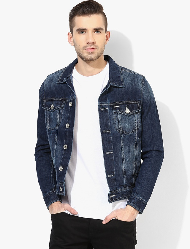 men denim jacket style