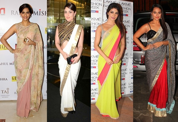 saree-for-body-types, how to choose a perfect saree drape for your body shape