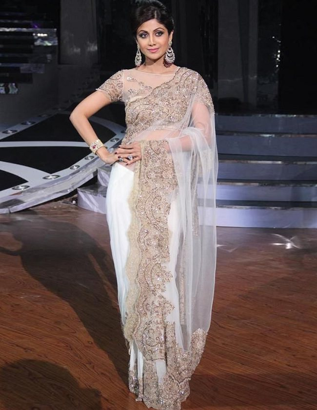 shilpa shetty in neeta lulla saree