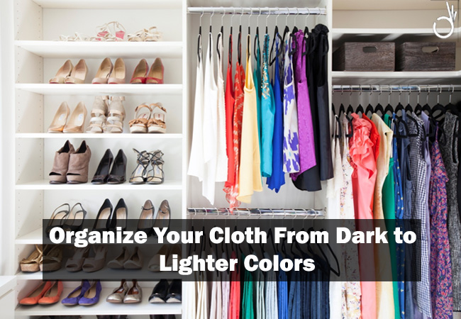 best way to organize clothes in your closet