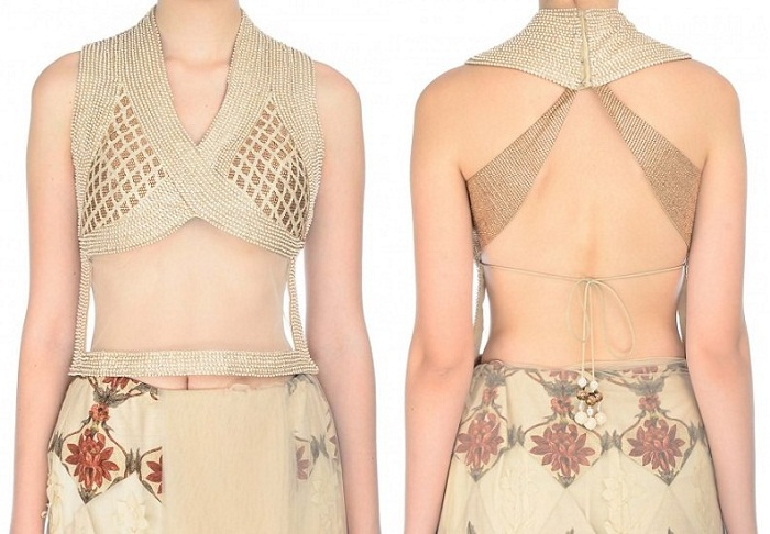 latest backless blouse designs 2017