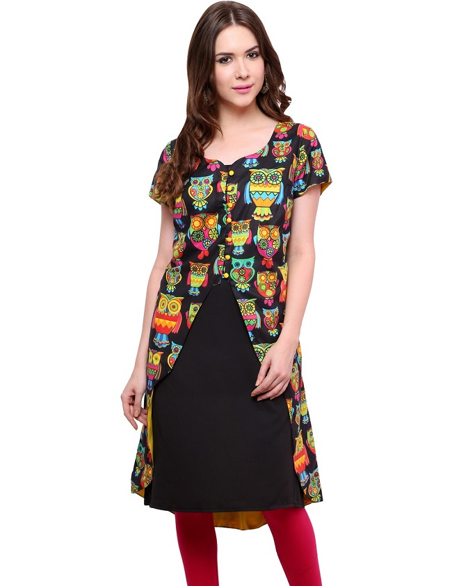 Latest Designer Kurtis with Different Cut Types - LooksGud.in
