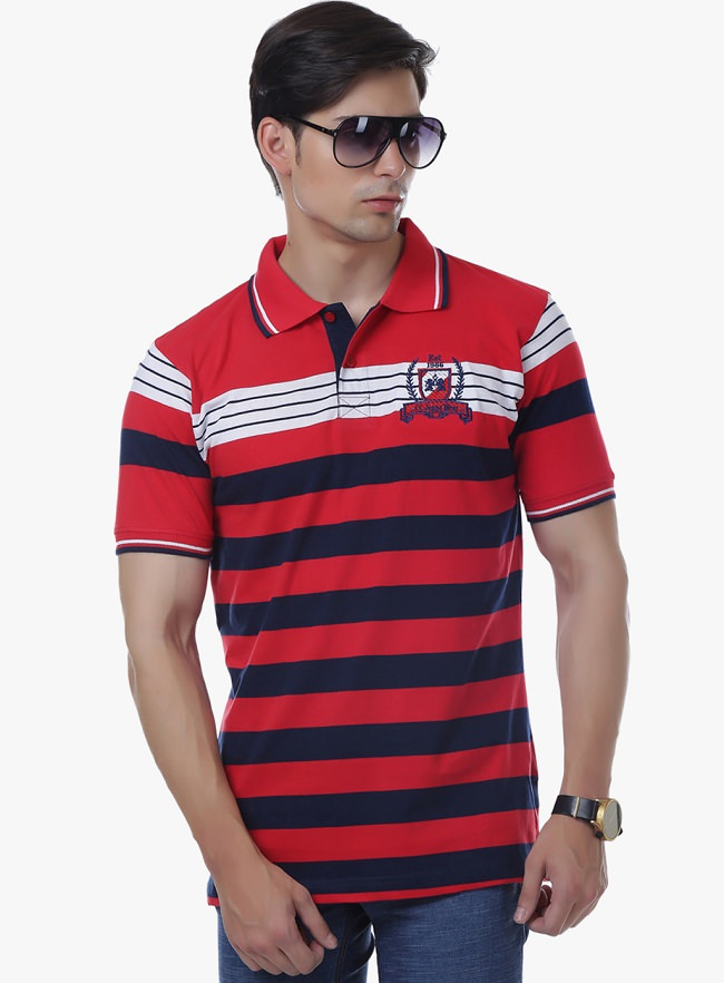cotton-county-premium-red-striped-polo-t-shirt