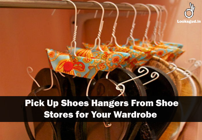 flipflop storage hacks, how to store footwear in wardrobe