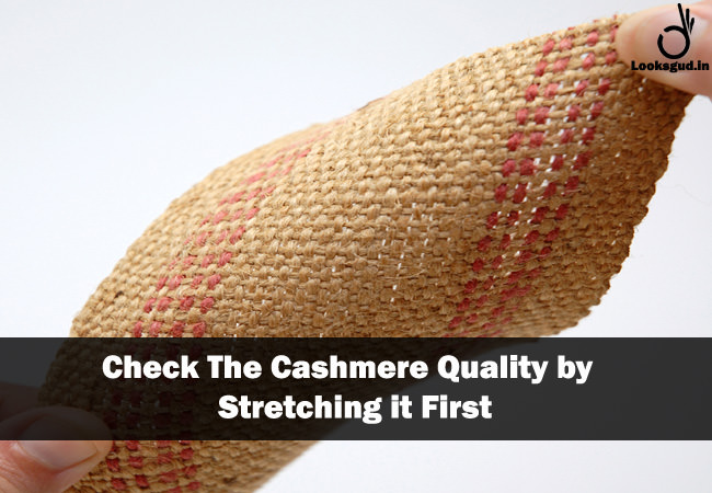 real life hacks to Identify pure Cashmere fabric