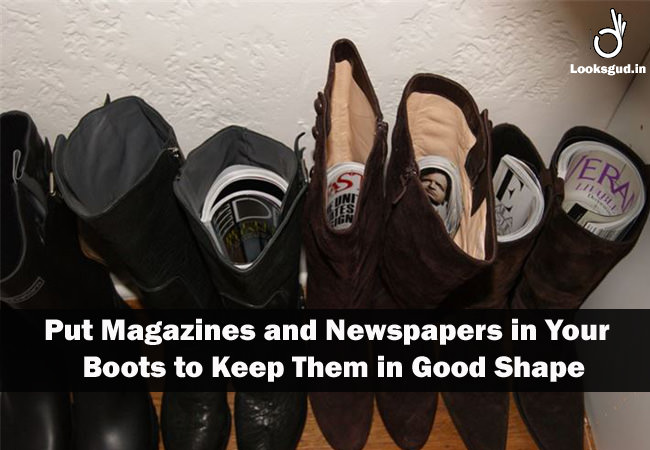 diy shoe hacks, tricks & tips to keep boots in perfect shape