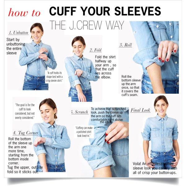 fashion style hacks for shirt cuff
