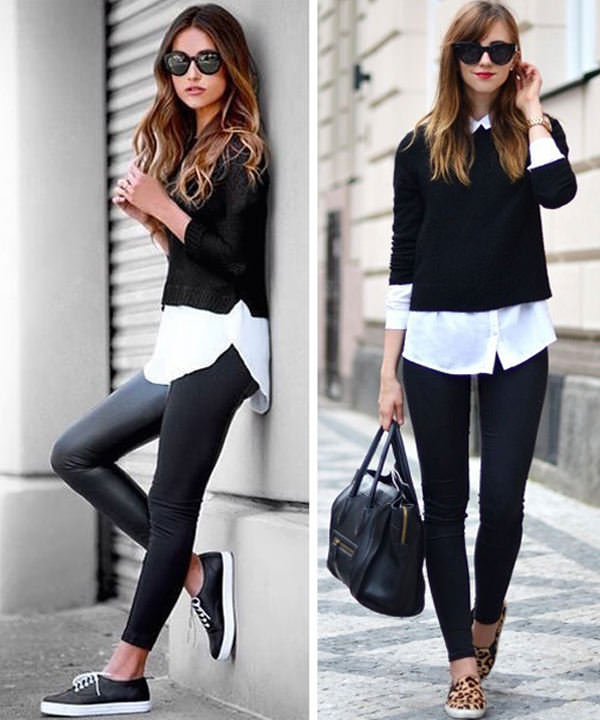 8adf2a5d5cea1 18 Cute Ways to wear Leggings in Style- Outfit Ideas - LooksGud.in