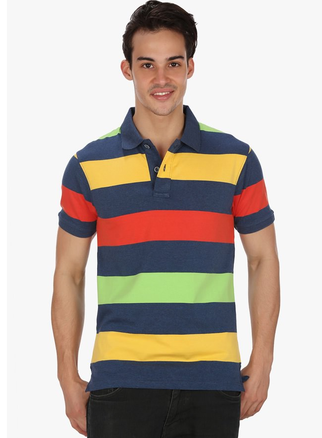 mudo multicolor striped t-shirt
