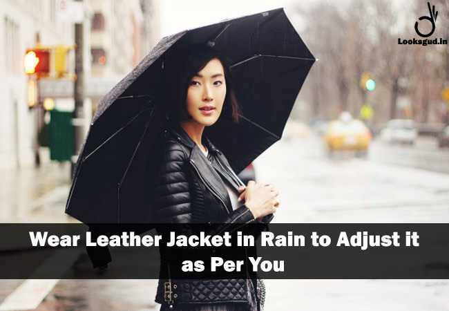 genius clothing hacks, trick to make leather jacket perfect fit