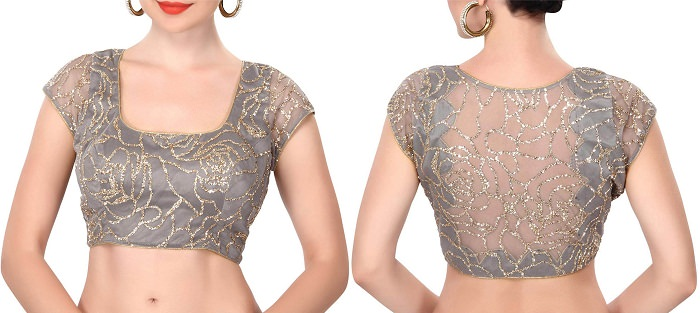 different types of blouse cutting