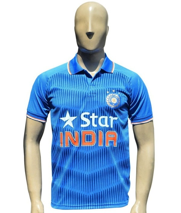 Team india cricket blue polo t-shirt for kids
