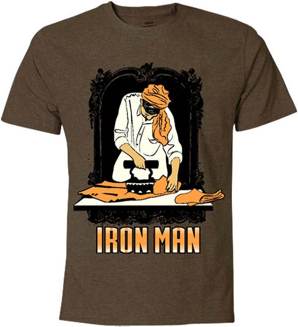 31 awesome funny slogan tees for men to buy online for Iron man shirt for men