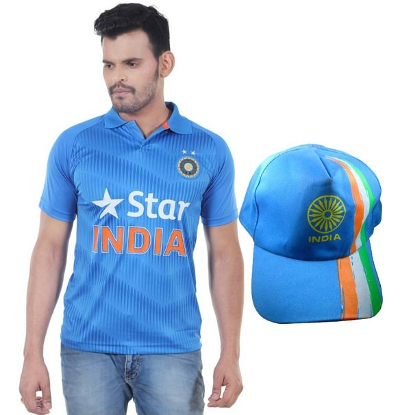 cricket-lovers-blue-t-shirt-cap