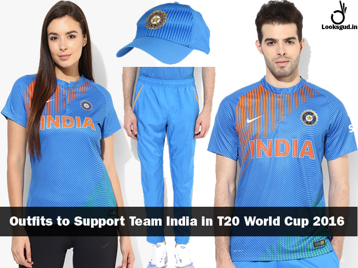Buy T20 World Cup 2016 T-shirts & Caps To Support Team India