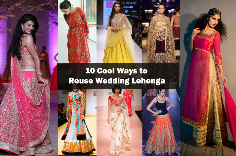 How to wear your wedding lehenga again? Find out 10 creative ideas to re-use lehenga like a new as fashion bloggers use.