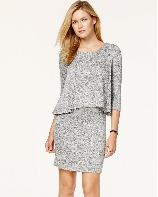 gray pop over dress, different types of dresses for different occasions