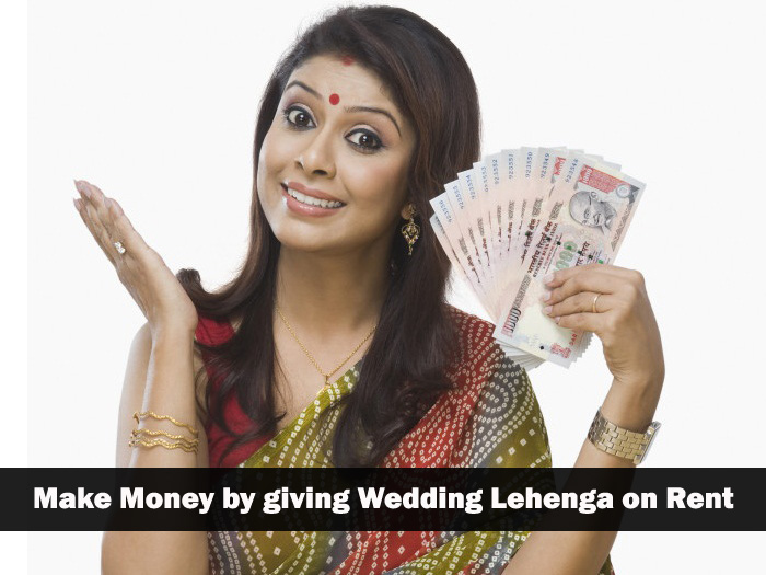 What to do with old lehenga? Make money by giving wedding lehenga on rent or selling online