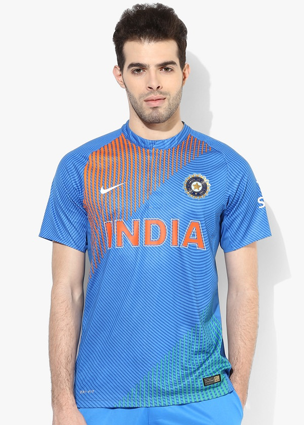 Nike India Cricket T20 Authentic Jersey