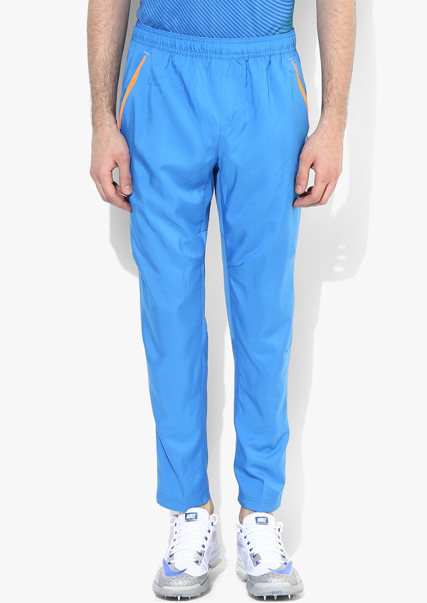 Nike Stadium W Solid As Em India Replica T20 Blue Track Pants of indian cricket team