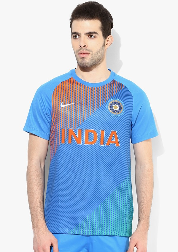 Nike India Cricket T20 Supporter T-shirt for wold cup