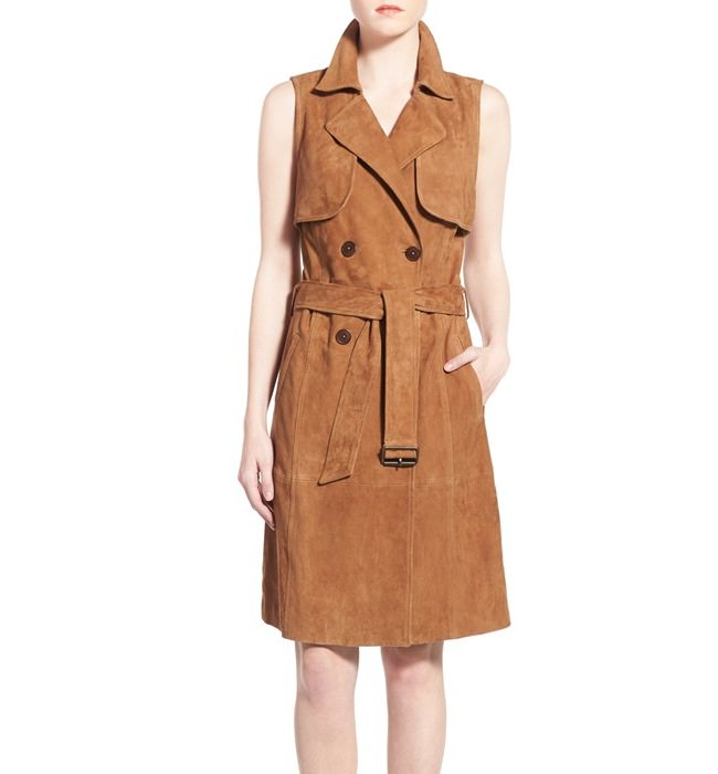 tan trench dress, different types of dresses and their names