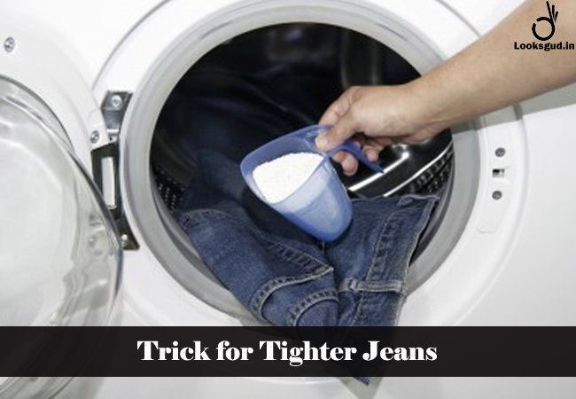 trick for tight jeans